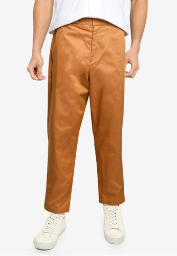 niko and ... orange Woven Pants DEF05AAA163FCAGS_1
