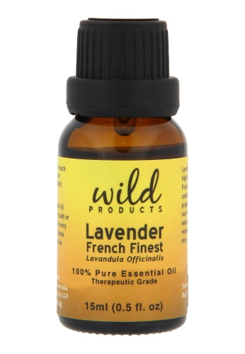 Wild Products Lavender Essential Oil, French Finest (Lavandula Officinalis) - 15ml 5A760BE8565539GS_1