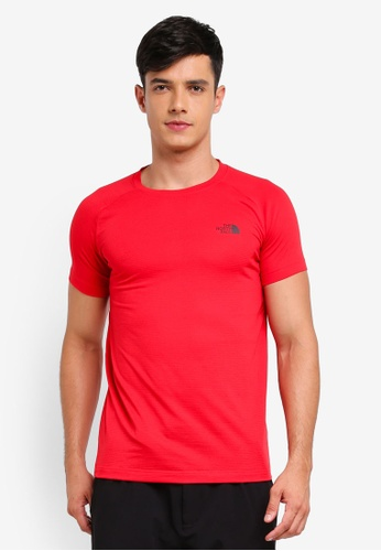 The North Face red TNF M S/S Hike Tee - Ap TNF Red AAC32AAFEE99CBGS_1
