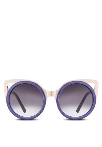 Jeepers Peepers purple Purple Cat Eye Sunglasses JE311GL31ODKMY_1