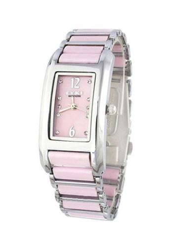 Eyki black Eyki W8419L Ceramic Watch (Pink) EY078AC02RNHMY_1