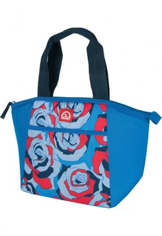 Sketched Rose Cobalt Mini Essential Tote