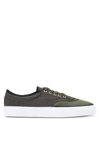Converse green Cons Skate Crimson Sneakers Ox CO302SH50BKRMY_1