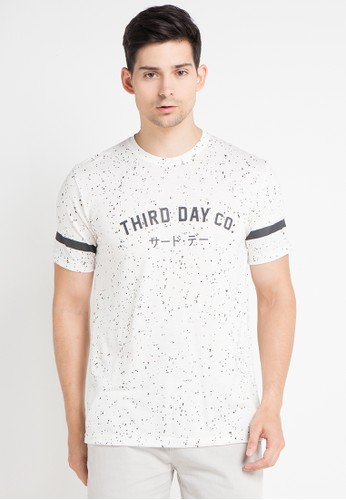 Third Day white S/S Men Spaltter Thirddayco TH591AA0WEQEID_1