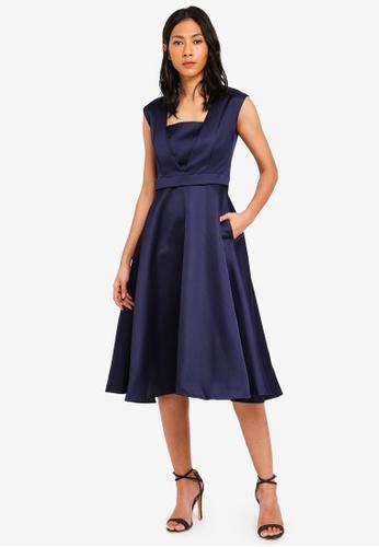 Megane navy Doreen Bridesmaid Dress 9B209AAC5E6931GS_1