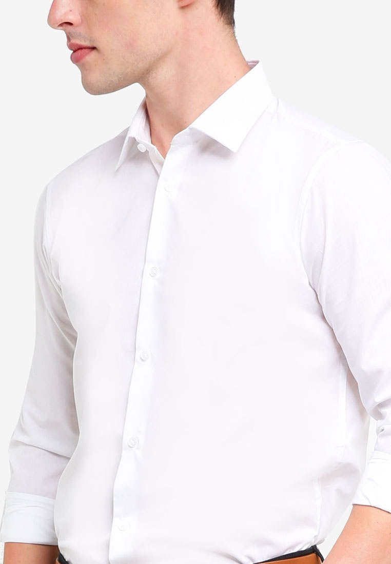 Burton Shirts Pack Fit White Easy White 2 Slim Menswear Iron London 0qtaxY