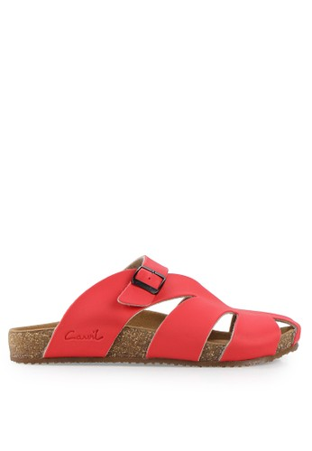 CARVIL red Man Sandal Footbed Falkland-04 CA566SH31PIEID_1