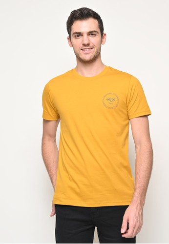 Skelly yellow Skelly Ace All The Way Graphic Tee In Yellow 2B7B3AA414667EGS_1