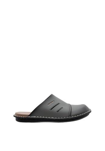 SEMBONIA grey SEMBONIA Men Sandal (Dark Grey) 82829SH0275AAAGS_1