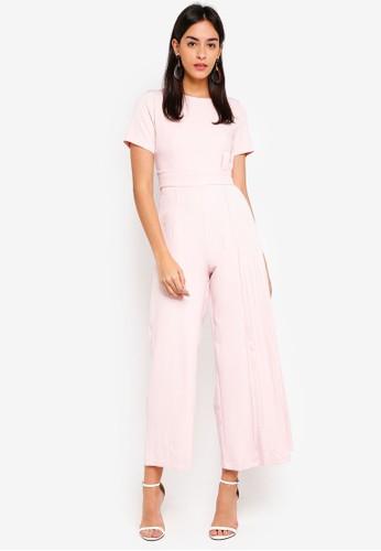 Megane pink Best Frenz Halona Jumpsuit 094EAAA2BF282EGS_1