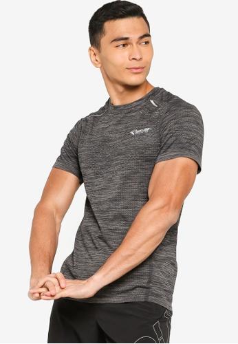 361° grey Running Series Short Sleeve T-Shirt 5A92AAA7DAA71AGS_1