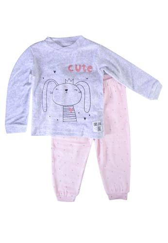 Babybol grey Children Pyjama 2F3E2KAEAA020FGS_1