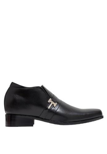 Keeve black Keeve Shoes Peninggi Badan Formal 132- Hitam B7389SHF27C13DGS_1