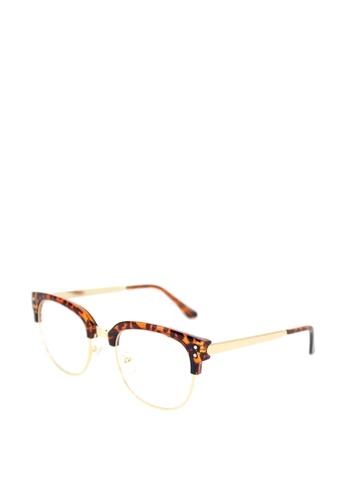 dc7ab871c0 Peculiar and Odd brown Premium Optical Round Eyeglasses 3146  PE789GL0JDM7PH 1