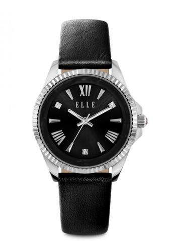 ELLE black Fashion Ladies Watch EL900AC73MVYMY_1