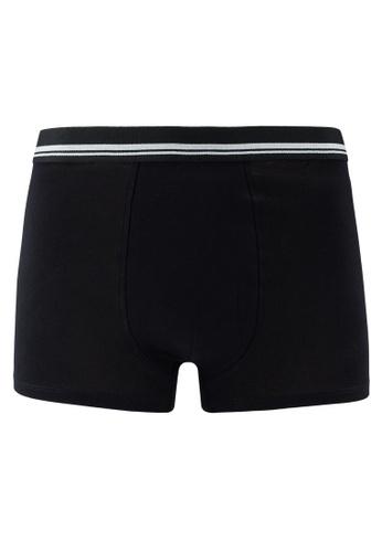 MANGO Man black Cotton Boxer Shorts FA0ADUS2788658GS_1