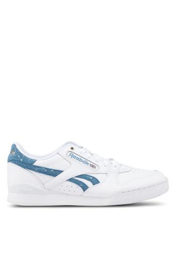 Reebok white Classic Phase 1 Pro MU Shoes E62D1SHCD0EA26GS_1