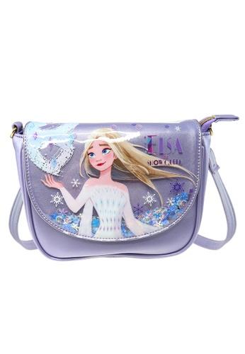 Disney Frozen Disney Frozen 2 PU Flap Sling Bag 0FCCBKC26AE737GS_1
