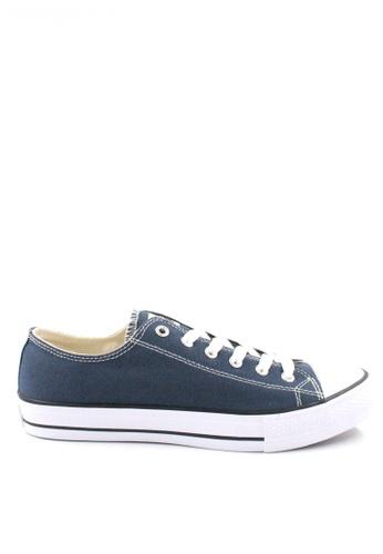 Jazz Star navy Jazz Star Lo Cut Shoe Lace 407-1196 1DB18SH7B7BC66GS_1