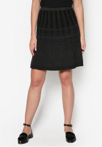 彈性針織短裙,esprit tw 服飾, 服飾