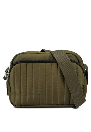 Pieces green Deci Crossbody Bag F9067ACB3D260DGS_1