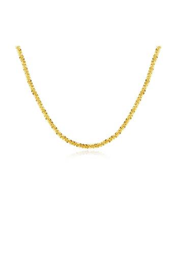 SUNRAIS gold Premium Silver S925 Gold Fashion Necklace 3A324AC1644D3AGS_1
