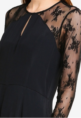 6ed253e31a52 Buy Abercrombie   Fitch Sheer Lace Romper Online on ZALORA Singapore