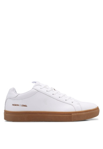 North Star white Laced Up Sneakers A3C3ASHDF9DB40GS_1
