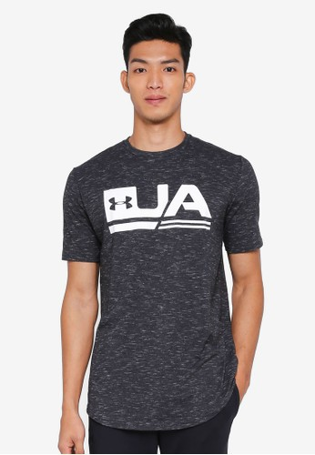 Under Armour black UA Sportstyle Short Sleeve Tee 643E7AAAF80F1BGS_1