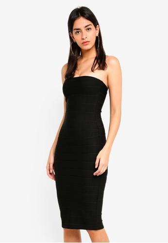 Buy MISSGUIDED Bandeau Bandage Midi Dress Online on ZALORA Singapore 3e8acfe91