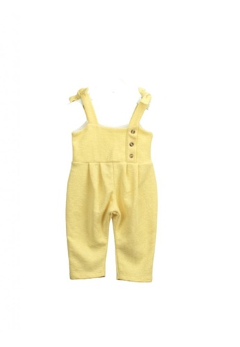 RAISING LITTLE yellow Alejandrina Romper AF9A4KAFB7F136GS_1