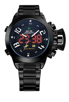 Analog LED Watch WH1008B-1C