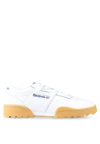 Reebok white Classics Workout Ripple OG Shoes 7448DSHC9920F0GS 1 a943fe3d1
