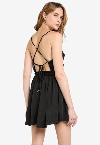 Free People black Good Company Slip Dress 57033AA78C79D0GS_1