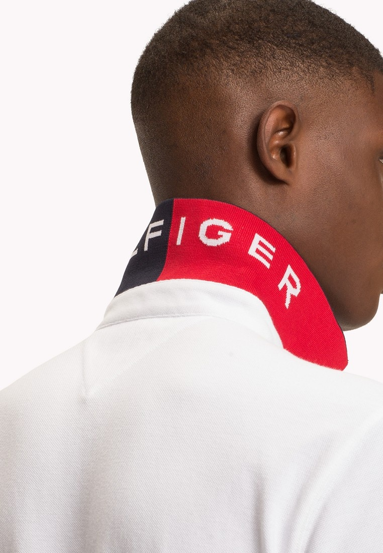 REGULAR POLO BRIGHT Tommy WHITE 1985 Hilfiger gwY8Sq