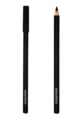 SON&PARK black SON&PARK Eyeliner Pencil (Black #01) SO466BE13DRYMY_1
