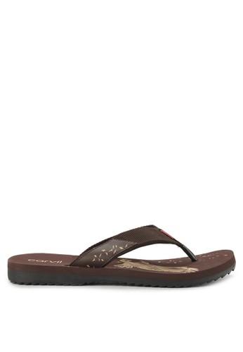 CARVIL brown Sandal Sponge Man Eaglo 617D0SH7B038FEGS_1