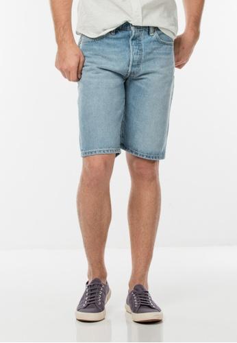 Levi's blue 501® Original Fit Shorts LE843AA0GFYOSG_1