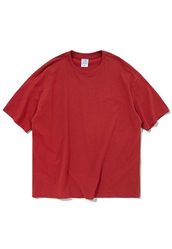 Twenty Eight Shoes Oversize Plain T-Shirts 8193S 97477AA58BB8F5GS_1