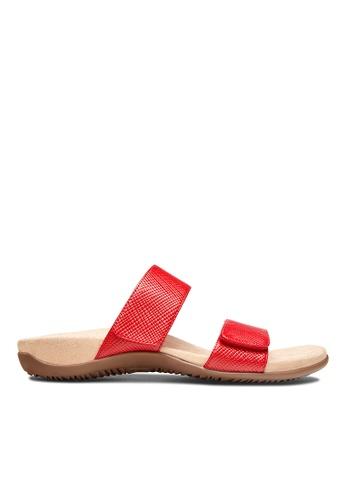 Vionic red Samoa Slide Sandal B8421SH9758768GS_1