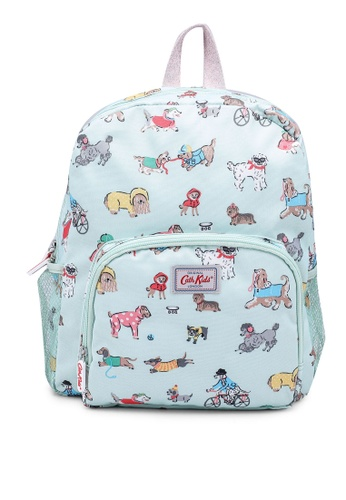 Cath Kidston green Small Park Dogs Kids Large Backpack C95ADKCD6F034DGS_1