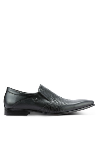 Frank Williams black Leather Dress Shoes FR169SH0RE6PMY_1