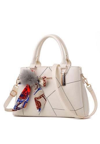 TCWK white TCWK Korea Style White Ladies Handbag TC258AC0S9WNMY_1