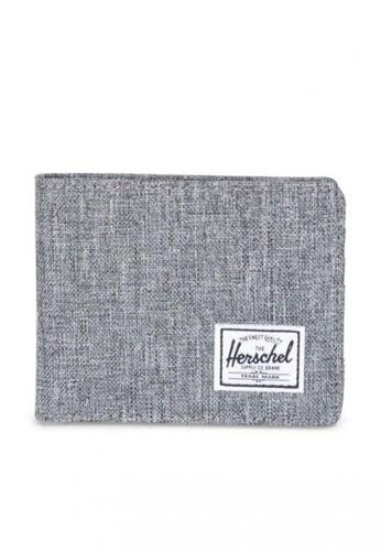 Herschel grey Roy RFID Wallet C1BB3AC4603C1BGS_1
