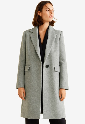 Buy Mango Structured Wool Coat Online on ZALORA Singapore 269808a74