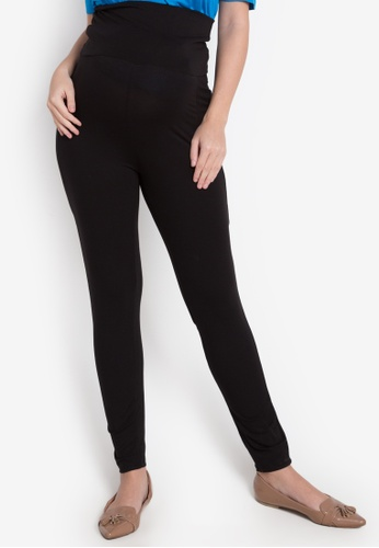 Nine Months black Nick Maternity Leggings NI270AA0K2KUPH_1