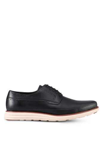 ZALORA black Lace Up Dress Shoes E3F08SH695ED02GS_1