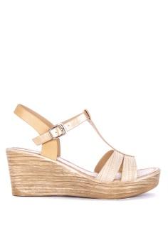 689f2e50aa20 Mendrez beige Quinny Wedge Sandals 9F3E4SH5D41A80GS 1