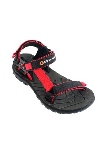 OUTDOOR FOOTWEAR red Outdoor Archer Red Sandal Gunung OU533SH02XMZID_1