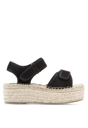 addicts anonymous black Samantha Platform Espadrille Sandals AD479SH54MJHMY_1